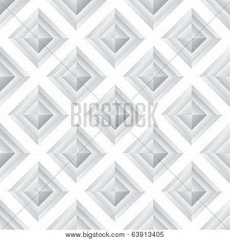 Abstract diamond grey seamless background