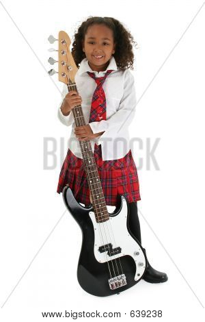 Little Bass Player