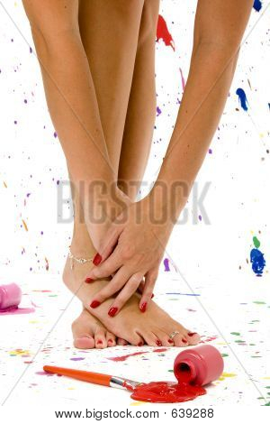 Sexy Feet And Hands