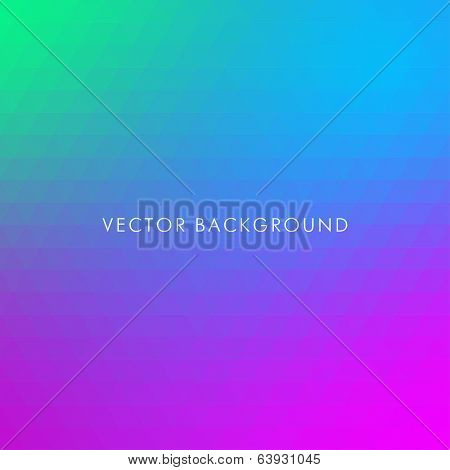Vector Abstract Triangle Background. Colorful geometric background with triangles.
