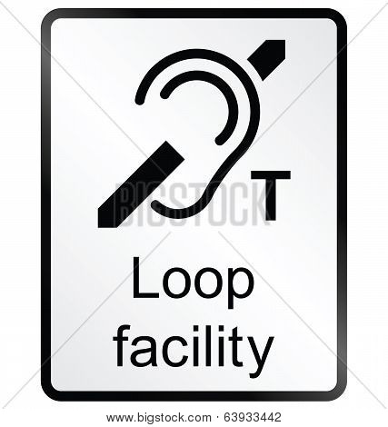 Facility Information Sign