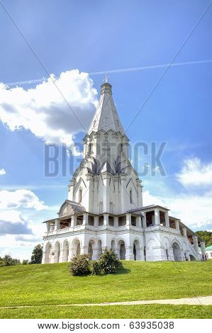 Church Of The Ascension, Moscow, Kolomenskoye