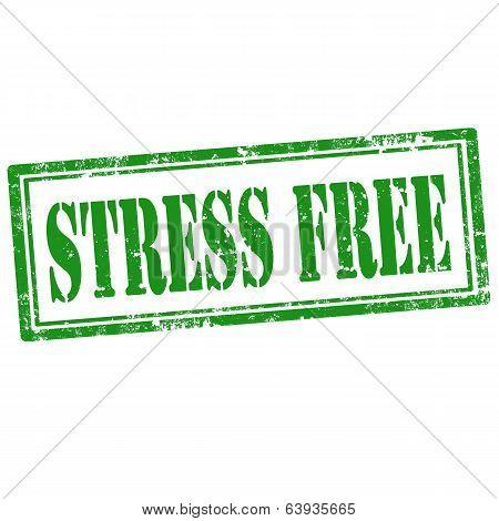 Stress Free-stamp