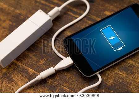 Phone charging with energy bank