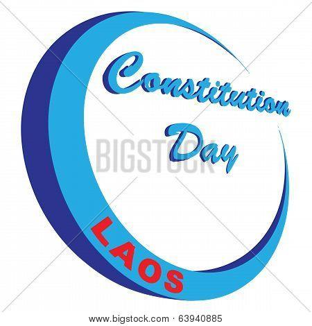 Constitution Day In Laos