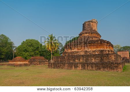 Ruins Of Buddhist Temple