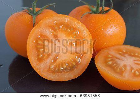 Orange Vine Tomatoes