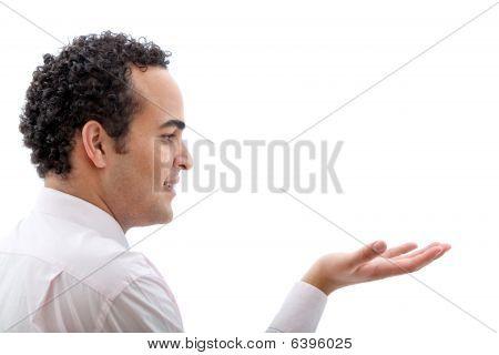 Man Offering Help