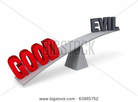 Good Outweighs Evil