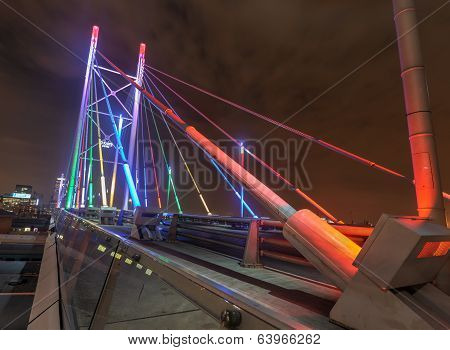Nelson Mandela Bridge, Johannesburg, Sa