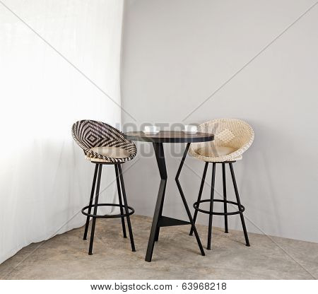 Bistro Furniture As Interior Furniture