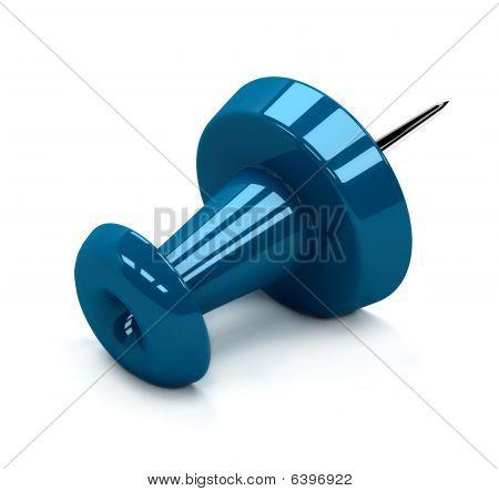 Blue Thumbtack
