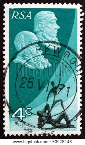 Postage Stamp South Africa 1971 Martinus Steyn And Paul Kruger