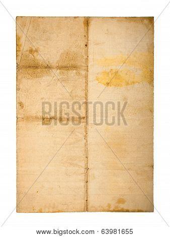 Old  Sheet