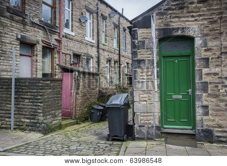 Cobbled street, Hebden Bridge