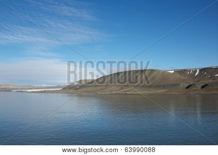 Landscape on Baarents Island, Svalbard