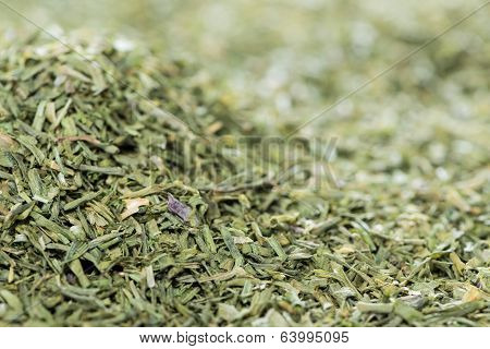 Dried Chive Background