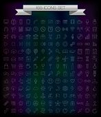 pic of universal sign  - 169 line icons - JPG