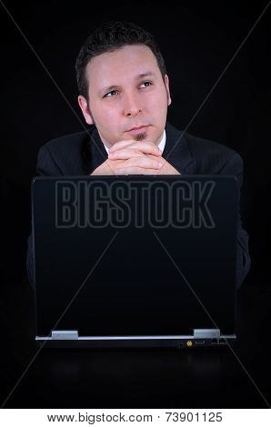 Businessman Is Wasting Time