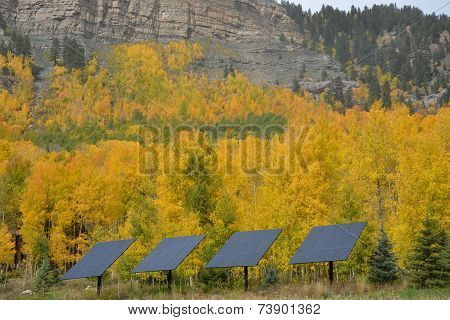 Solar Panels and Fall