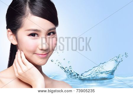 Beauty Skin Care Concept
