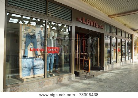 Levi Strauss Store At The Ala Moana Center