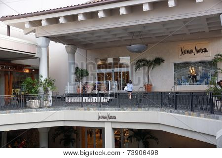 Entrance To Neiman Marcus At The Ala Moana Center