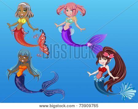Beautiful Mermaids