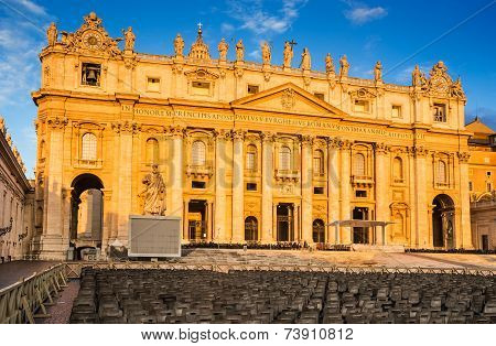 St. Peter Cathedral In Vatican, Rome