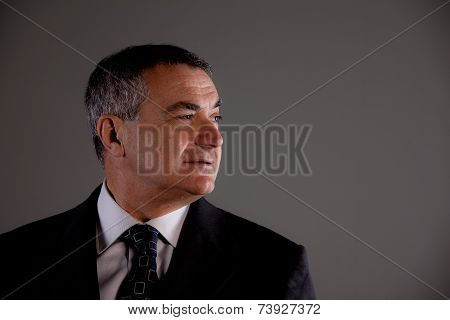 Secret Agent Or Senior Self Confident