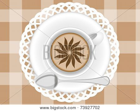 Cup Of Cupuccino