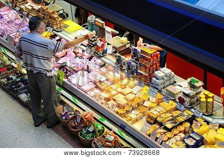 Indoor market stall, Derby.