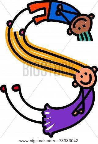 Alphabet Letter S Kids