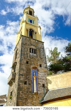 The Campanile, bell-tower, Portmeirion
