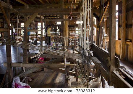 Myanmar Hand-loom fabric