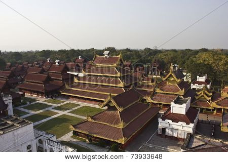 The Mandalay Palace