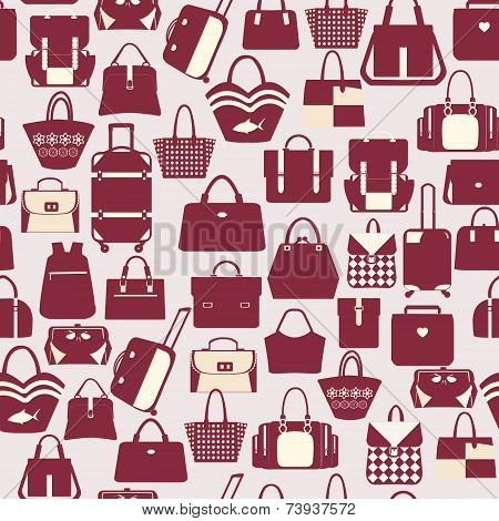 handbags travel bag and business bags   - Illustration
