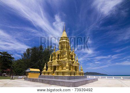 Wat In Koh Samui.