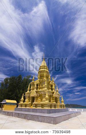 Wat In Koh Samui .
