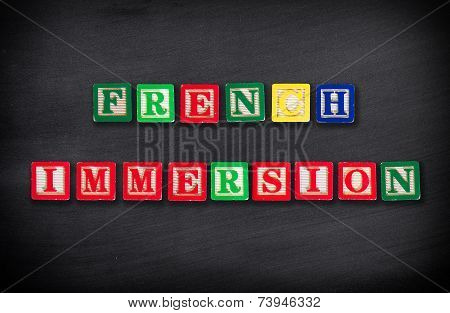 French Immersion Concept