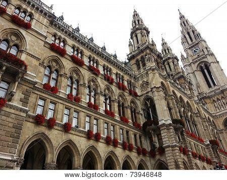 Rathaus - Vienna City Hall Austria.