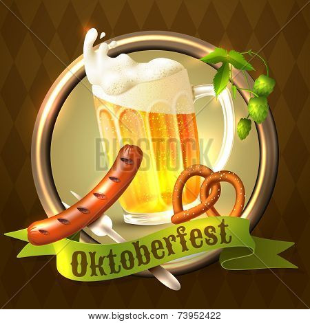 Oktoberfest festival background