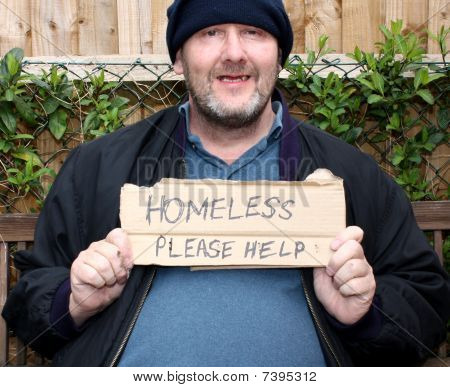 Homless man