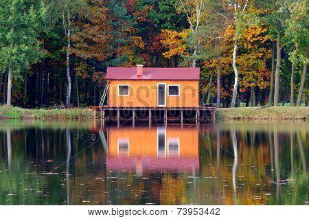 Autumn on the water.