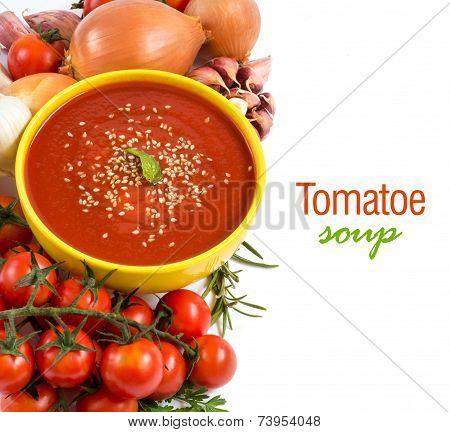 Fresh Tomatoe Soup