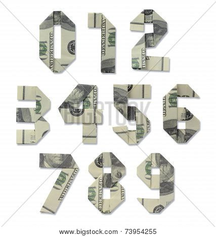 Collection Of Numbers Of Hundred-dollar Bills