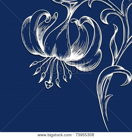 Vector Greeting Or Invitation Card.