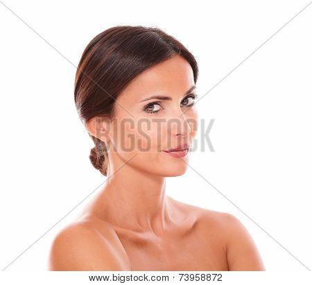 Beautiful Sensual Adult Female While Wondering