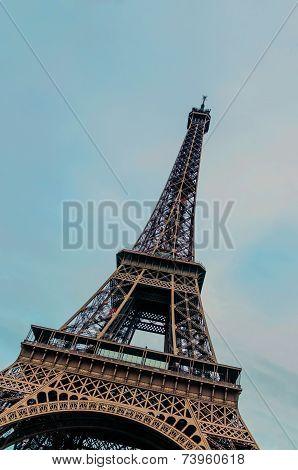 Eiffel Tower Famous Symbol