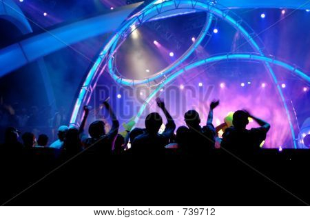 People in the concert